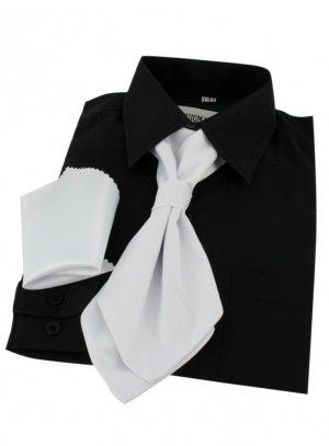 cravate et noeud papillon blanc