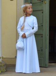 16e4ffbd0761a Robe de communion fille, robe blanche pour fille et ado