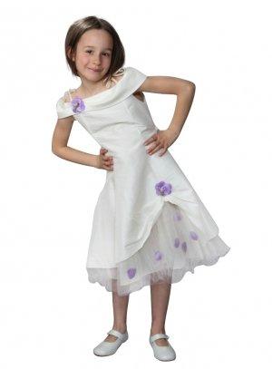 99e2fea1d7bf2 FIN DE STOCK - Robe cérémonie fille pour mariage cortège enfant ...