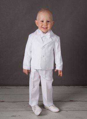 Costume de baptême garçon bébé Lucas