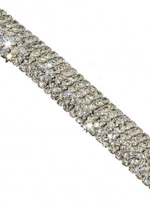 bijoux de soirée gris argent