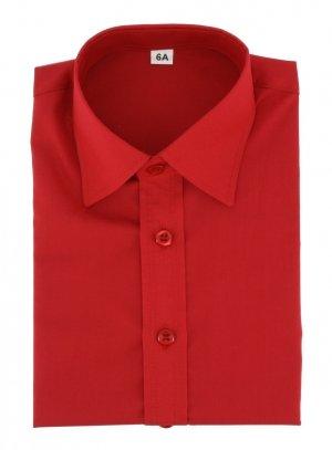 chemise enfant rouge