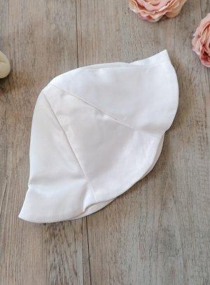 547f31d379e4 SOLDES - Chapeau blanc bébé ou fillette pour baptême ou mariage