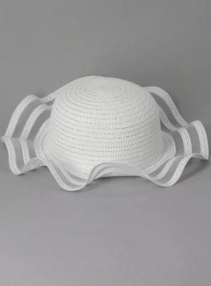 b3166ad652a9 Chapeau blanc bébé pour baptême ou mariage