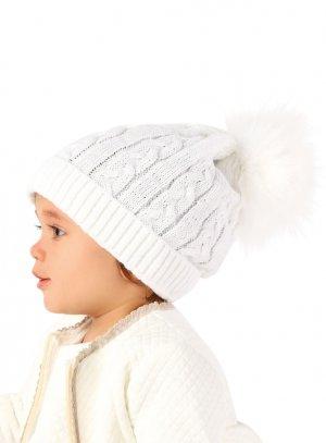 90591a2c4b46 Bonnet pompon fourrure bébé pas cher et si adorable !