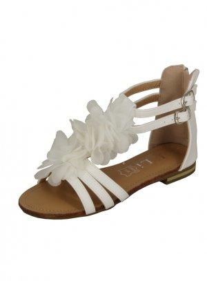 5d26f39caef8c1 FIN DE STOCK - Chaussures de mariage communion fille Colline blanche pas  chère
