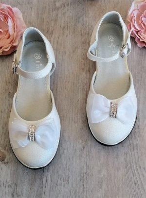 mieux aimé ad349 9d168 Chaussures de cérémonie fille scintillante