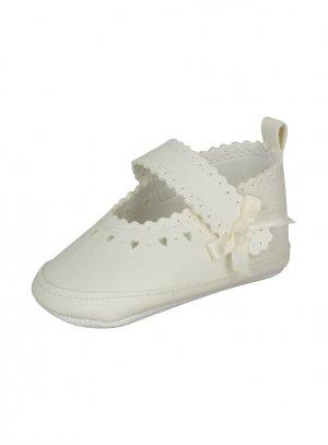chaussures de cérémonie fille ivoire - ecru