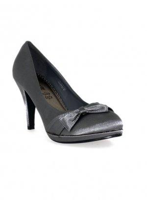 chaussures de soirée femme gris
