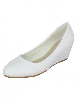 bad4b0ecc58ab6 Talon compensé pour mariage des chaussures confortables !