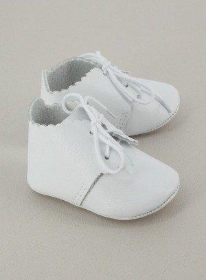81948b8c63dc7 Bottillon blanc cuir pour bébé garçon pas cher fabrication CEE