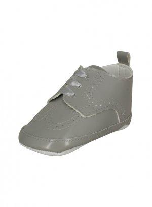 chaussures garçon gris