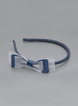 prix style populaire authentique Serre tête noeud satin