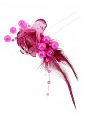 pics et fourches rose fushia