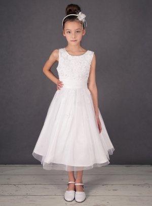 d83fa84c1f9 Robe de cortège communion enfant princesse modèle Malaurie