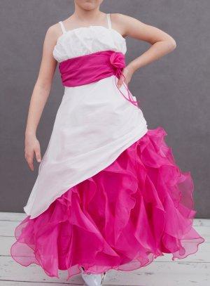 Robe mariage fille fushia