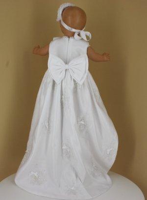 new list newest collection hot sale online Robe de baptême longue Louna avec traine