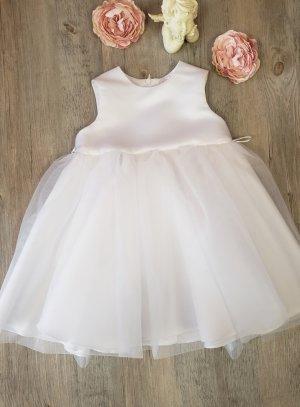 c8e055a7472 Robe de cortège enfant avec pétale rose