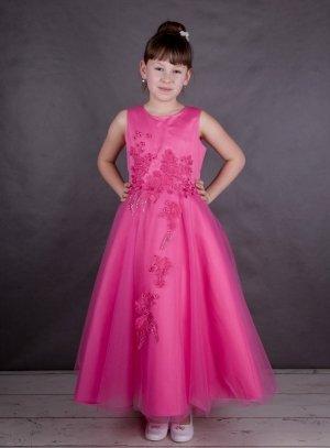 074e55e6cb212 SOLDES - Robe de demoiselle d'honneur fille effet princesse strass