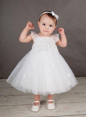 b879859cb2782 Tenue pour un baptême de princesse Mélissa pas chère