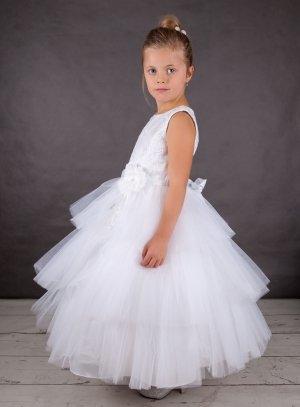 19c7fc24f3c Robe de cérémonie blanche pour enfant de 2 à 16 ans Constantine