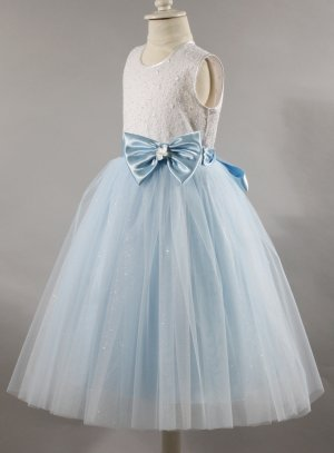 3a107b52dfae9 Robe princesse cérémonie mariage fille avec tulle paillette Avelina