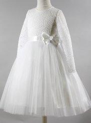 100% de qualité supérieure une autre chance style de mode Robe de communion fille, robe blanche pour fille et ado