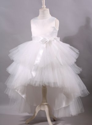 Robe cérémonie mariage fille style princesse