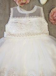 c63d88d1293 robe de cérémonie fille ivoire - ecru