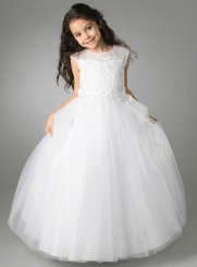 robe de communion blanc