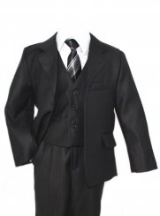 costume enfant gris anthracite