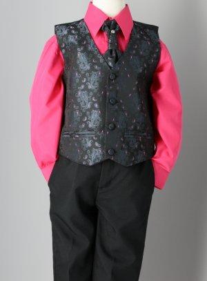 Noir Et Costume Noa Complet Fushia Rose Enfant vN8Omnw0