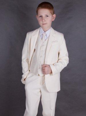 e4178c52ee196 FIN DE STOCK - Costume enfant ivoire 4 pièces très classe pour mariage ou  autre