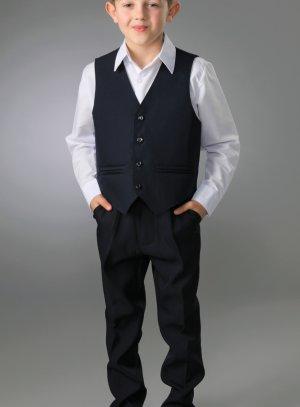 Costume garçon bleu marine parfait pour un mariage et pas cher ! 360462ed47b