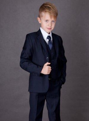 Costume garçon mariage bleu marine complet et pas cher 5d577b7b4a6