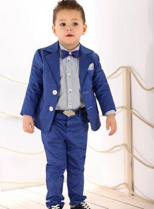 Costume enfant 3 ans 4 ans et 6 ans pour mariage Bleu 8a944df2c5e