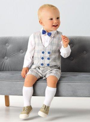 Bébé Avec Costume Gilet Garçon Evan gfyYb67v