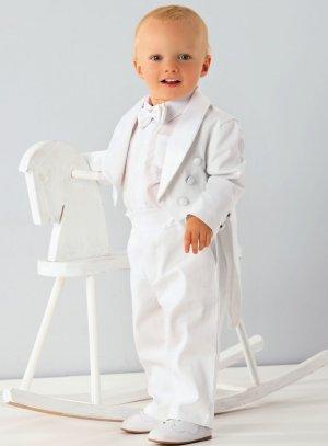 309a9980233e9 Costume baptême bébé garçon queue de pie Angelo