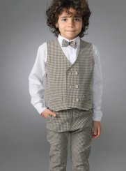costume enfant marron