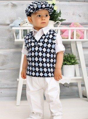 57a8d74037f FIN DE STOCK - Costume bébé et enfant mariage très class avec beret