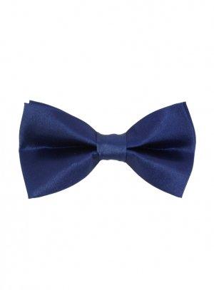 cravate et noeud papillon bleu marine