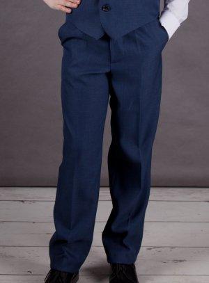 ebd5b2bf2d06 Pantalon garçon bleu marine pour cérémonie, mariage, communion ou fête