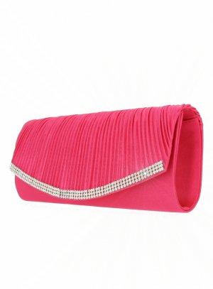 pochette de soirée, sac habillé rose fushia