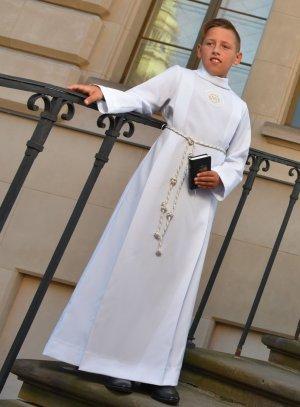 Aube de communion garçon ou mixte