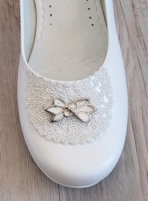 Ballerines blanches fille Gala