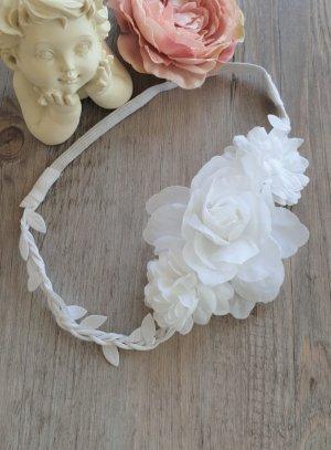 bandeau cheveux coiffure de cérémonie enfant mariage communion baptême