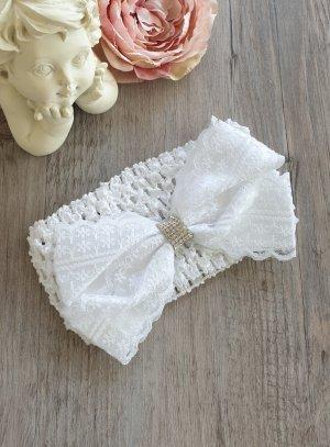 bandeau blanc bébé
