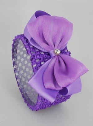 bandeau violet