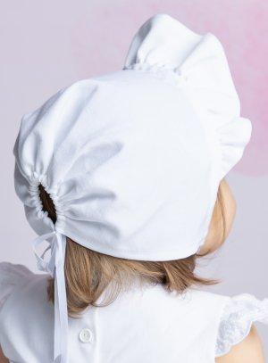 Chapeau béguin pour petite fille