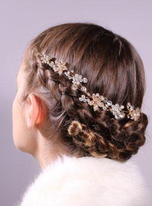 bijoux de tête et strass rose